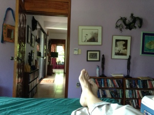 Our bedroom in Pehaltun, Bacalar, MX