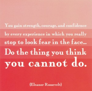 The Think You Think You Cannot Do