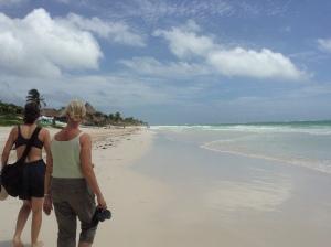 Tulum Beach Nine Months Later