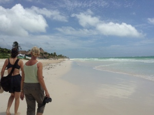 Tulum Beach Nine Months Later
