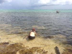 Lisa Snorkeling