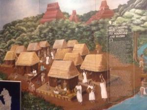 Replica Mayan Village