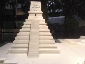 Model of Tikal, Guatemala