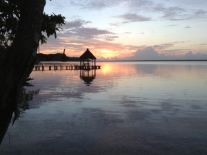 First Sunrise Living in Bacalar