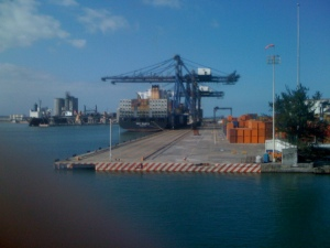 Shipping Port Veracruz