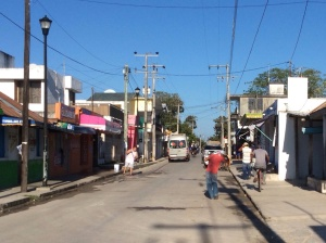 Streets of Bacalar