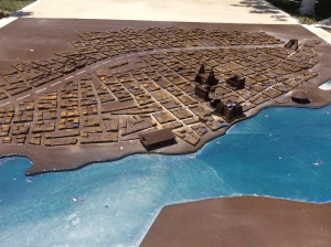 Model of Bacalar Found In The City Park