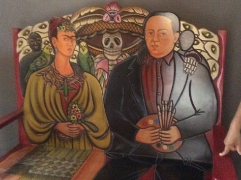 One of Mexico's most famous couples, Freda Kalo & Diego Rivera