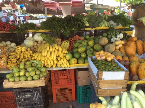 Saturday Farmer's Market in Chetumal