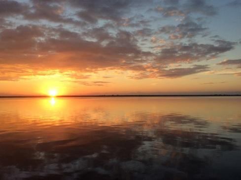 Sunrise photo of the week.