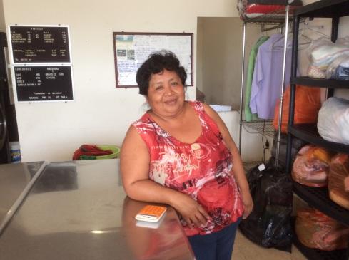 Lavanderia with Carmen.