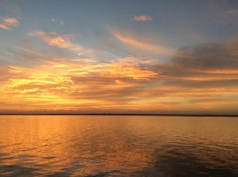 Sunrise of the week.
