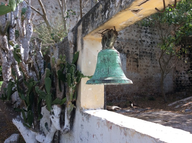 The bell still is used to call locals to mass.