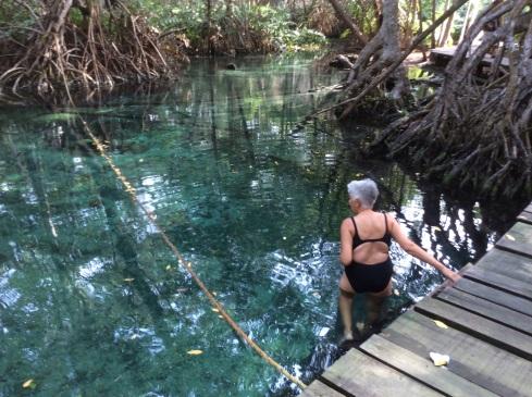 One way of swimming my way around the world.