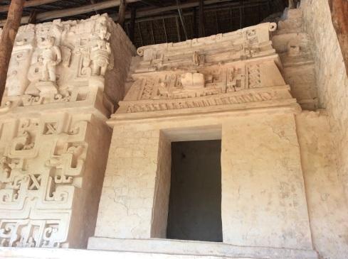 Mayan hut.