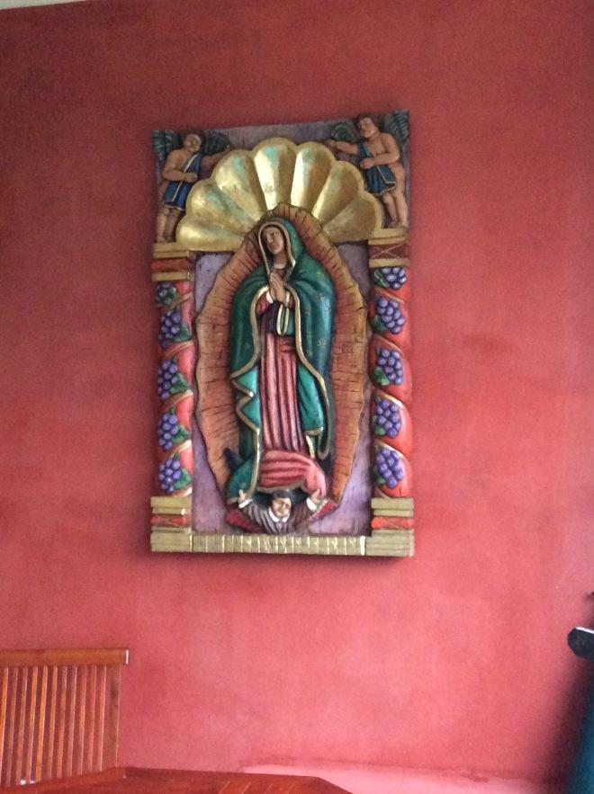 Our Lady of Guadalupe, sacred Catholic icon.